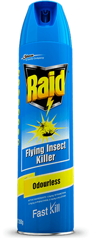 RAID FLYING INSECT KILLER ODOURLESS