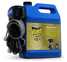 RAID MAX BUG DEFENCE DO-IT-YOURSELF OUTDOOR HOME SURFACE SPRAY