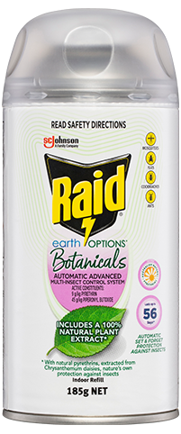 RAID EARTH OPTIONS AUTOMATIC ADVANCED MULTI-INSECT CONTROL SYSTEM (Refill)