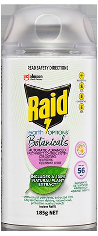 Raid Earth Options Automatic Advanced Multi Insect Control